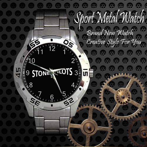 Stone Temple Pilots 5 Rock Band Sport Metal Watch