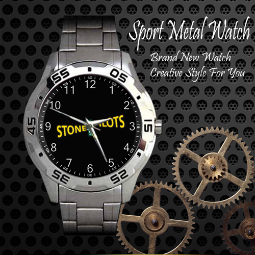 Stone Temple Pilots Rock Band Sport Metal Watch