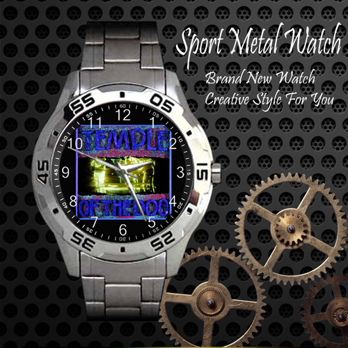 Temple Of The Dog 1 Rock Band Sport Metal Watch