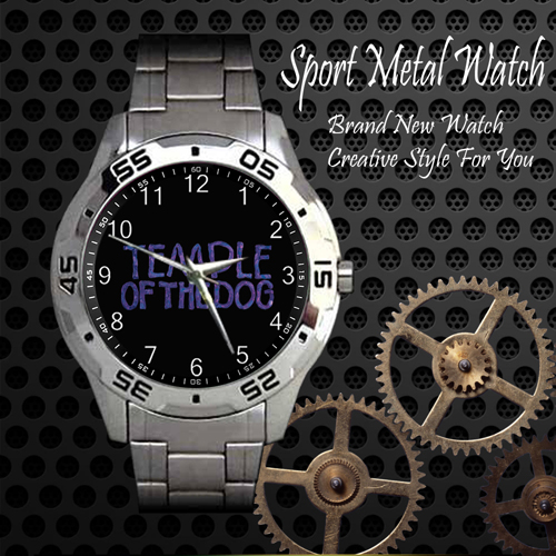 Temple Of The Dog Rock Band Sport Metal Watch