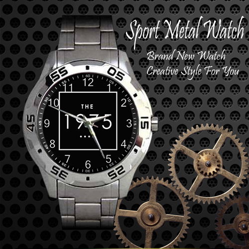 The 1975 Rock Band Sport Metal Watch