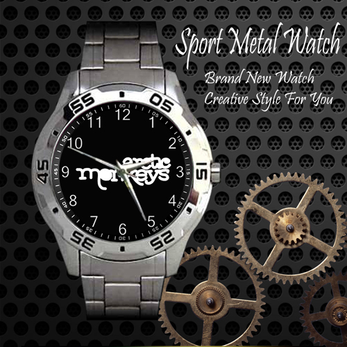 The Arctic Monkeys Rock Band Sport Metal Watch