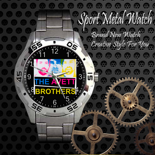 The Avett Brothers 1 Rock Band Sport Metal Watch