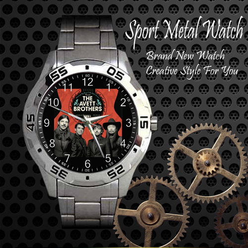 The Avett Brothers 2 Rock Band Sport Metal Watch