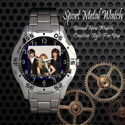 The Band Perry 3 Rock Band Sport Metal Watch