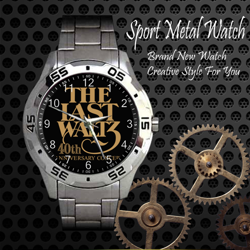 The Band The Last Waltz Rock Band Sport Metal Watch