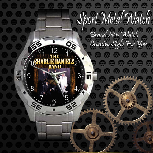 The Charlie Daniels 1 Rock Band Sport Metal Watch