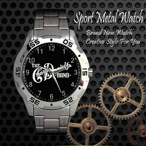 The Charlie Daniels Rock Band Sport Metal Watch