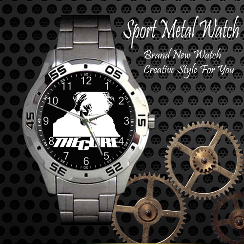 The Cure 3 Rock Band Sport Metal Watch