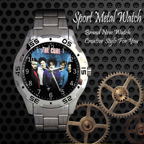 The Cure 6 Rock Band Sport Metal Watch