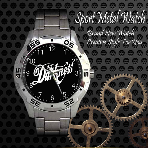 The Darkness Rock Band Sport Metal Watch