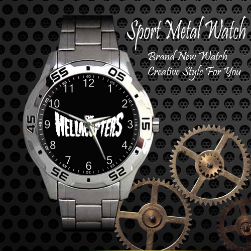 The Hellacopters 1 Rock Band Sport Metal Watch