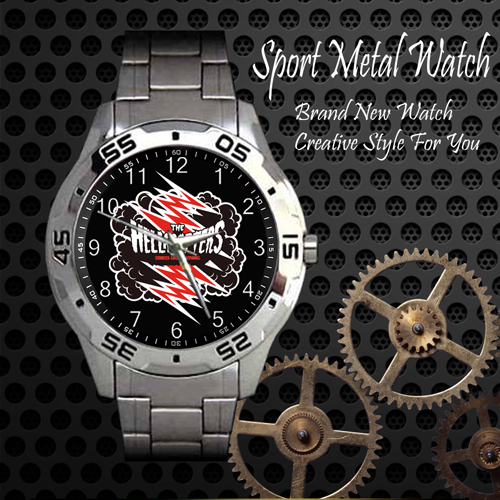 The Hellacopters Rock Band Sport Metal Watch