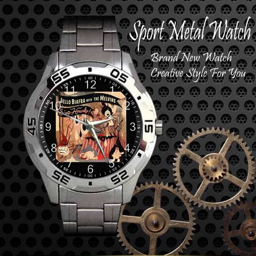 The Melvins 1 Rock Band Sport Metal Watch