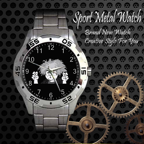 The Melvins Rock Band Sport Metal Watch