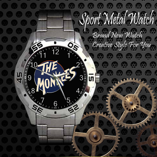 The Monkees 1 Rock Band Sport Metal Watch