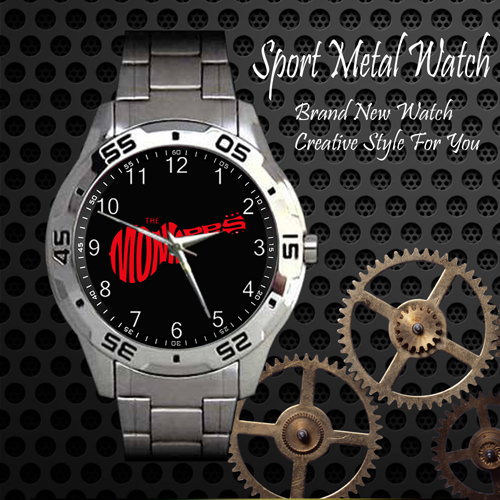 The Monkees 2 Rock Band Sport Metal Watch