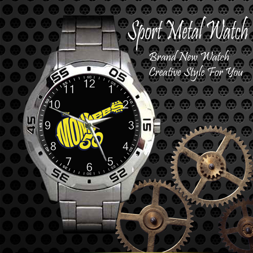 The Monkees Rock Band Sport Metal Watch