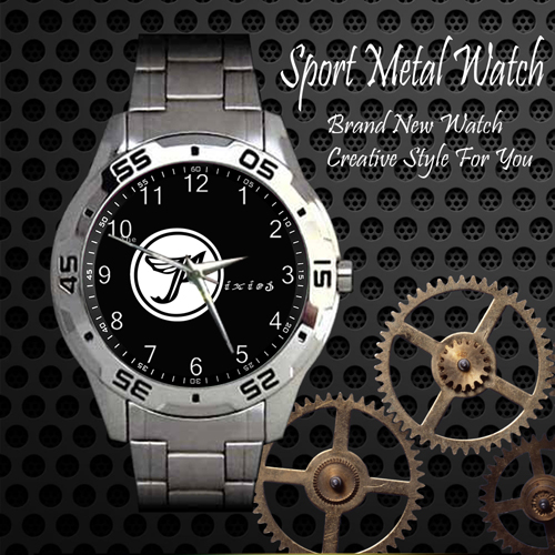 The Pixies Rock Band Sport Metal Watch