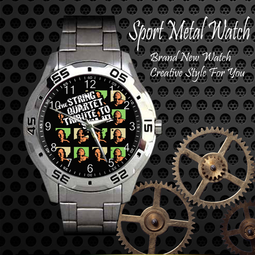 The String Quartet Tribute To Sum 41 Rock Band Sport Metal Watch