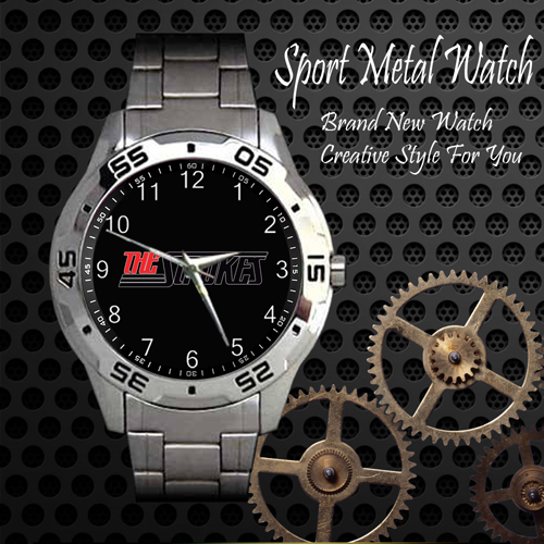 The Strokes 1 Rock Band Sport Metal Watch