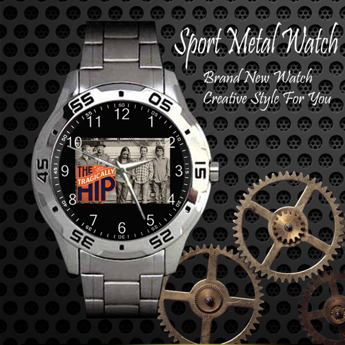 The Tragically Hip 1 Rock Band Sport Metal Watch