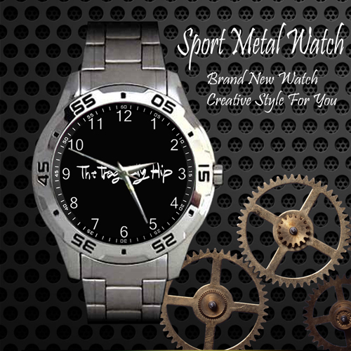The Tragically Hip 4 Rock Band Sport Metal Watch