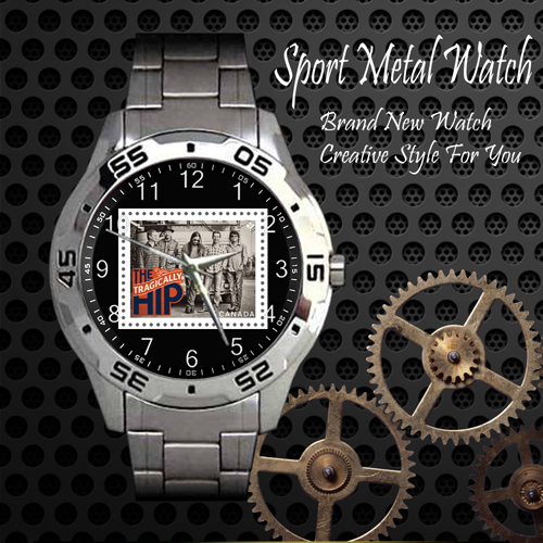 The Tragically Hip Rock Band Sport Metal Watch