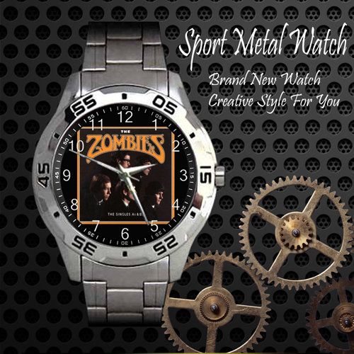 The Zombies 2 Rock Band Sport Metal Watch