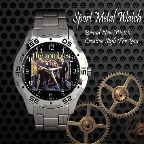 The Zombies Rock Band Sport Metal Watch