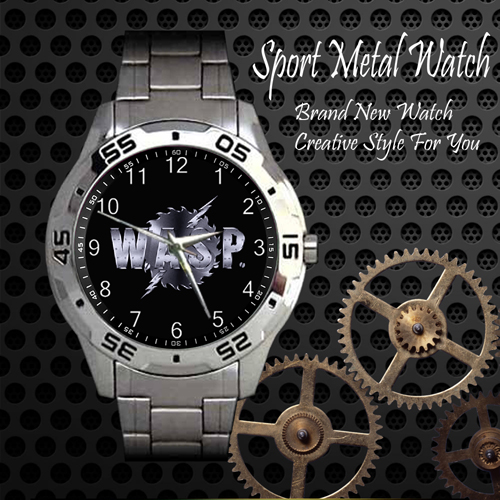 Wasp 1 Rock Band Sport Metal Watch