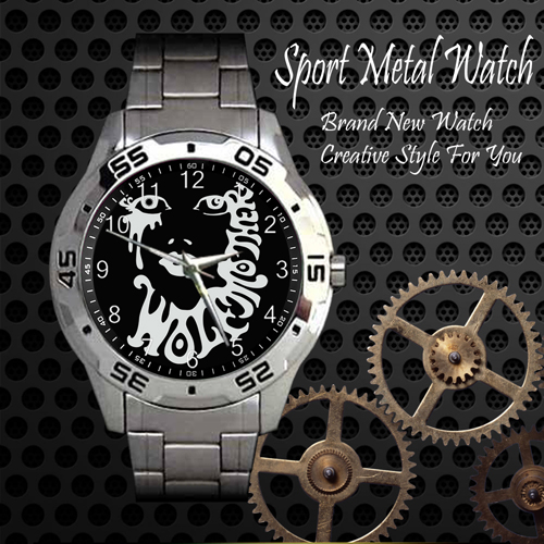 Wolfmother 1 Rock Band Sport Metal Watch