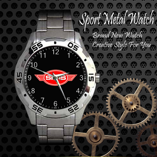 Sims Skateboard Sport Metal Watch